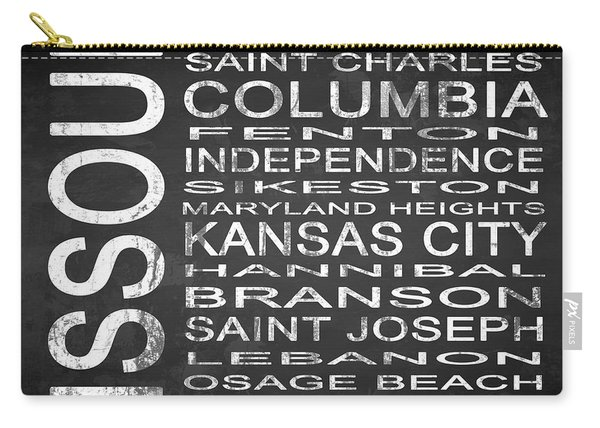 Subway Missouri State Square Carry-all Pouch