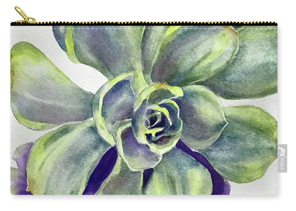 Succulent Plant Carry-all Pouch