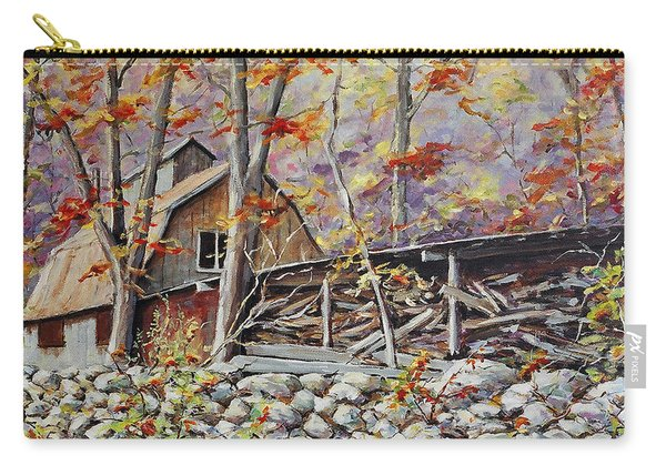 Sugar Shack Beauce Quebec Carry-all Pouch
