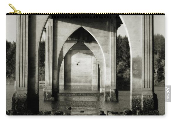 Suislaw River Bridge In Florence Oregon Carry-all Pouch