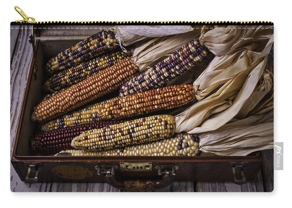 Suitcase Full Of Indian Corn Carry-all Pouch