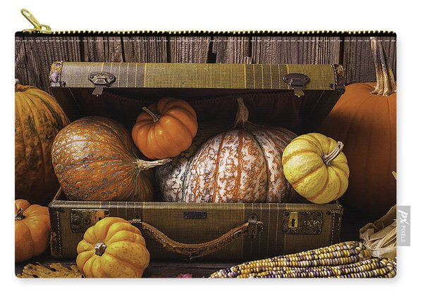 Suitcase Full Of Pumpkins Carry-all Pouch