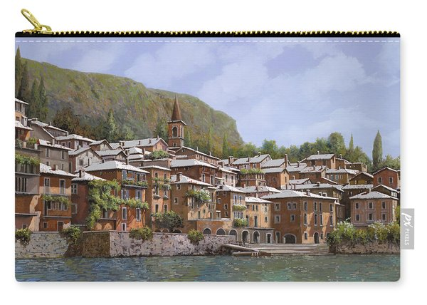 Sul Lago Di Como Carry-all Pouch