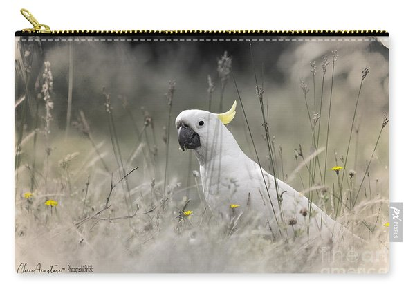 Sulphur Crested Cockatoo Carry-all Pouch