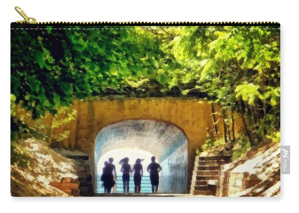 Summer At Tunnel Park Carry-all Pouch