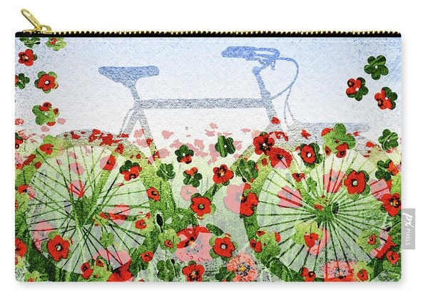 Summer Bicycle Carry-all Pouch
