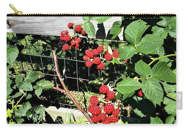 Summer Blackberries Carry-all Pouch