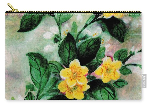 Summer Blooms Carry-all Pouch
