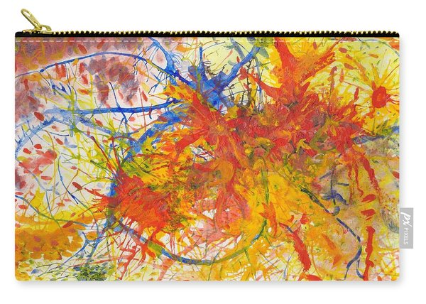 Summer Branches Alfame With Flower Acrylic/water Carry-all Pouch