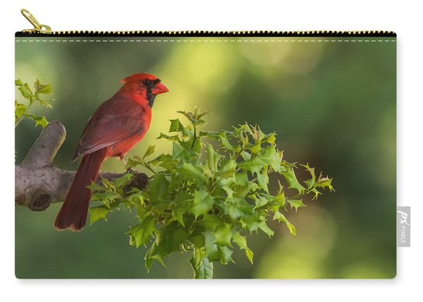 Summer Cardinal New Jersey Carry-all Pouch