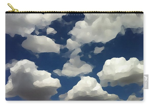 Summer Clouds In A Blue Sky Carry-all Pouch