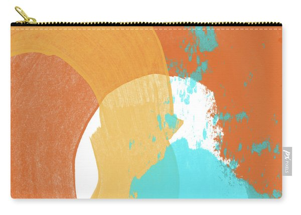 Summer Color 1- Art By Linda Woods Carry-all Pouch
