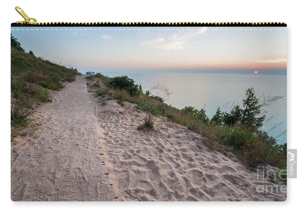 Summer Dusk At Empire Bluff Carry-all Pouch