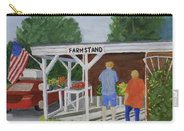 Summer Farm Stand Carry-all Pouch