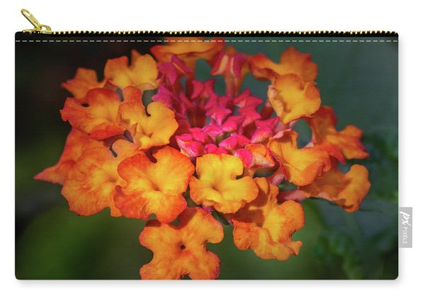 Summer Floral Colors Carry-all Pouch