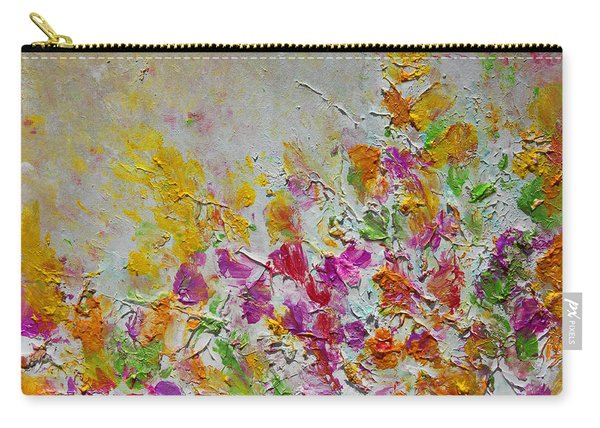 Summer Fragrance Abstract Painting Carry-all Pouch