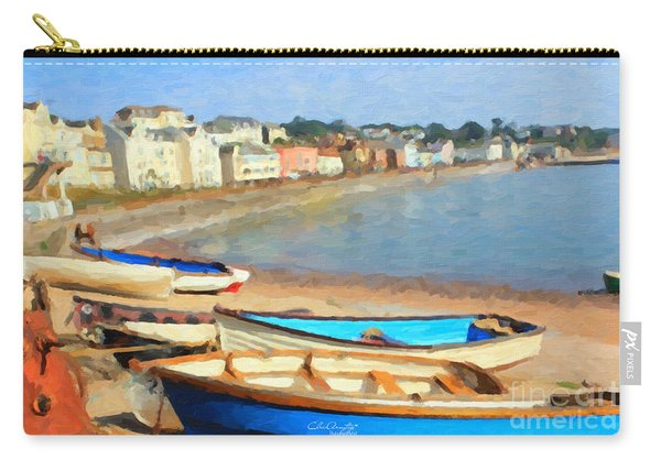 Summer In Dawlish Carry-all Pouch