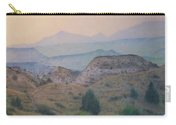 Summer In The Badlands Carry-all Pouch