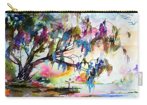 Summer In The Garden Of Good And Evil Watercolor Carry-all Pouch