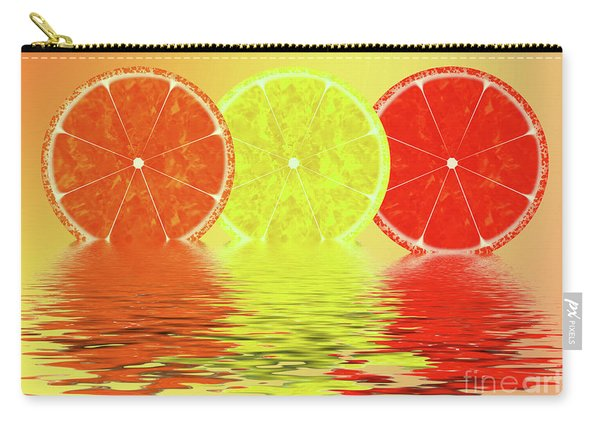 Orange,lemon,blood Orange Carry-all Pouch