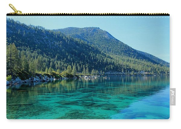 Carry-all Pouch featuring the photograph Summer Morning by Sean Sarsfield