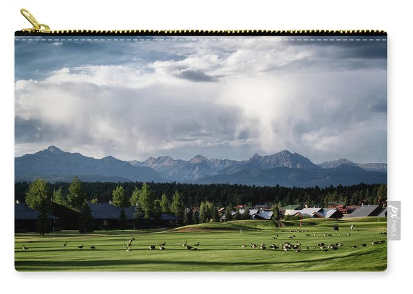 Summer Mountain Paradise Carry-all Pouch