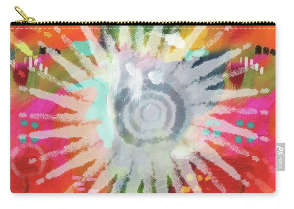 Summer Of Love- Art By Linda Woods Carry-all Pouch