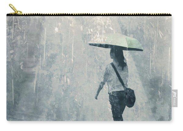Summer Rain Carry-all Pouch