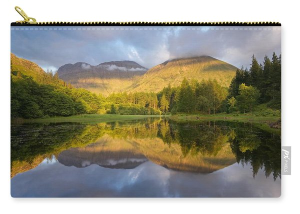 Summer Reflections At The Torren Lochan Carry-all Pouch