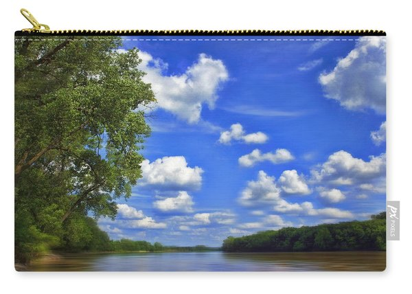 Summer River Glory Carry-all Pouch