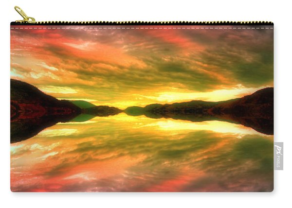 Summer Skies At Skaha Carry-all Pouch