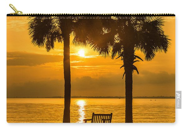 Summer Sunrise - Charleston Sc Carry-all Pouch