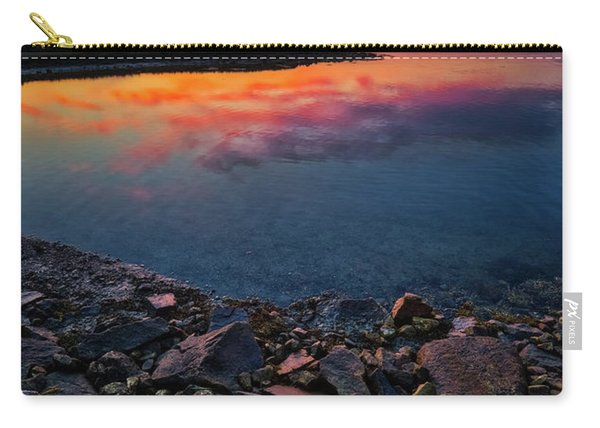 Summer Sunset In Rye Carry-all Pouch