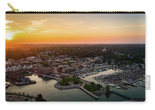 Summer Sunset In The Sky Carry-all Pouch