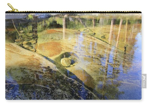 Carry-all Pouch featuring the photograph Summers Depth by Sean Sarsfield