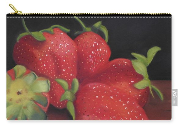 Summer's Red Gems Carry-all Pouch