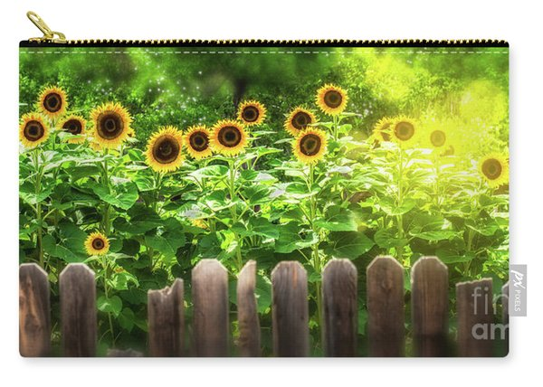 Summer's Sunflowers Carry-all Pouch