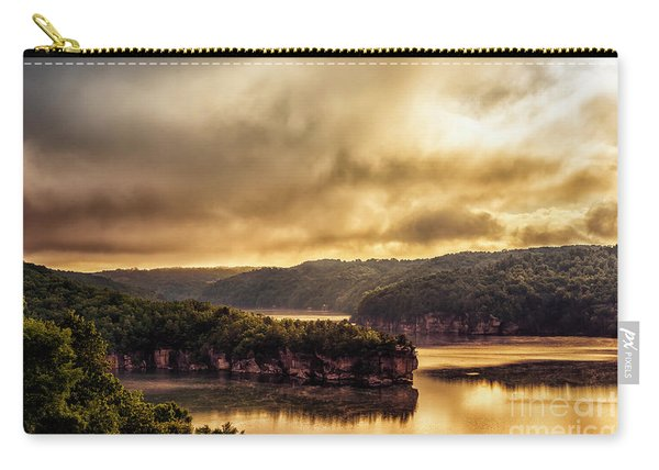 Summersville Lake At Daybreak Carry-all Pouch