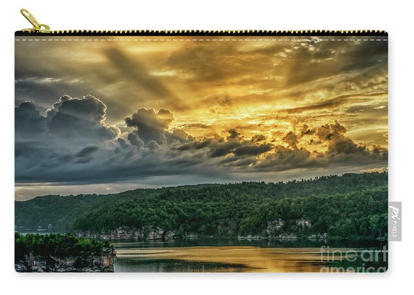 Summersville Lake Sunrise Carry-all Pouch