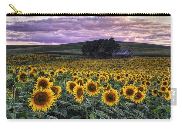 Summertime Sunflowers Carry-all Pouch