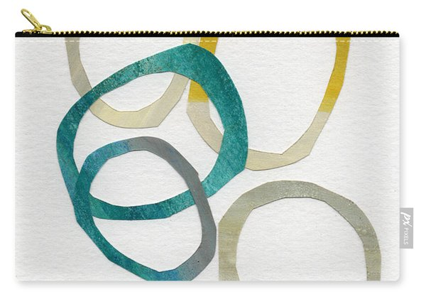 Sun And Sky- Abstract Art Carry-all Pouch