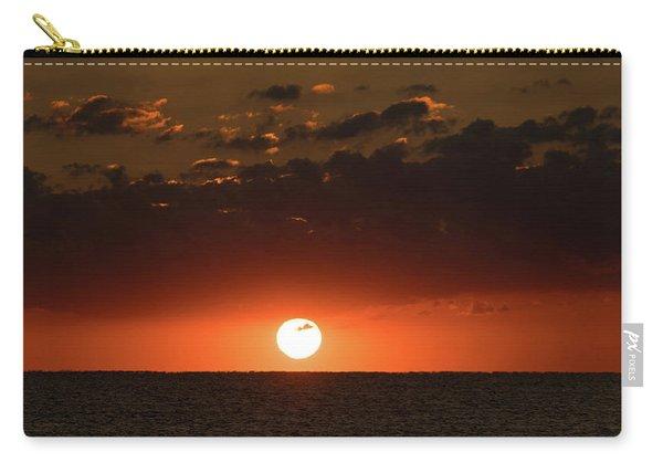 Sun Ball Sunrise Delray Beach Florida Carry-all Pouch