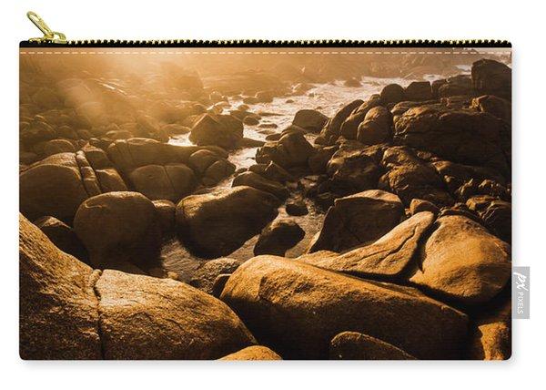 Sun Bleached Australia Beach Carry-all Pouch