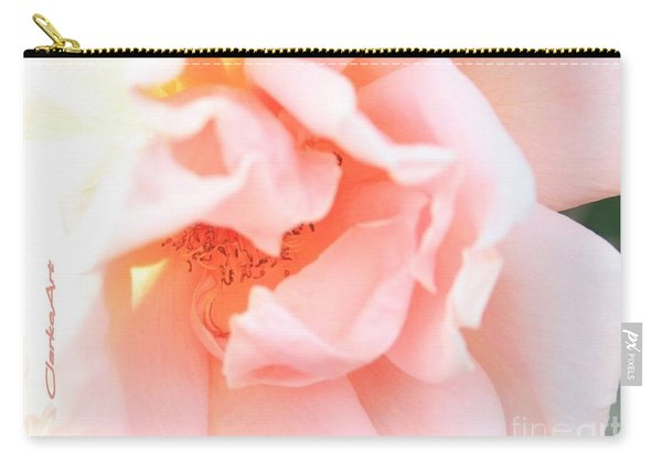Sun-drenched Rose Carry-all Pouch