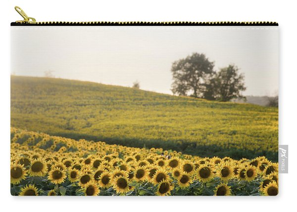 Sun Flowers II Carry-all Pouch