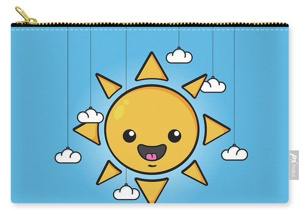 Sun Is Shining In The Sky Carry-all Pouch