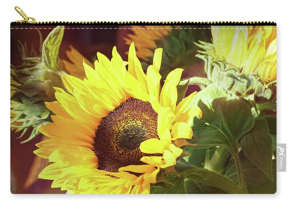 Carry-all Pouch featuring the photograph Sun Of The Flower by Michael Hope