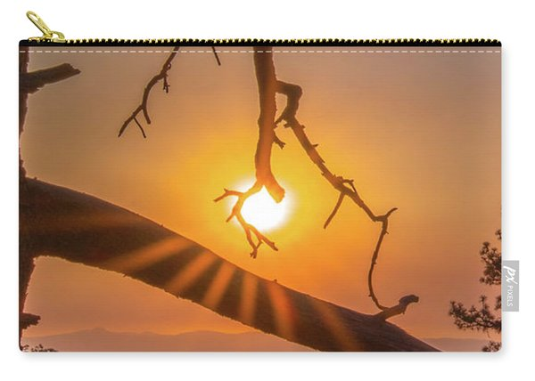 Sun Ornament - Cropped Carry-all Pouch