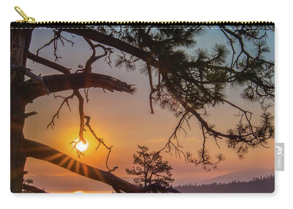 Sun Ornament Carry-all Pouch