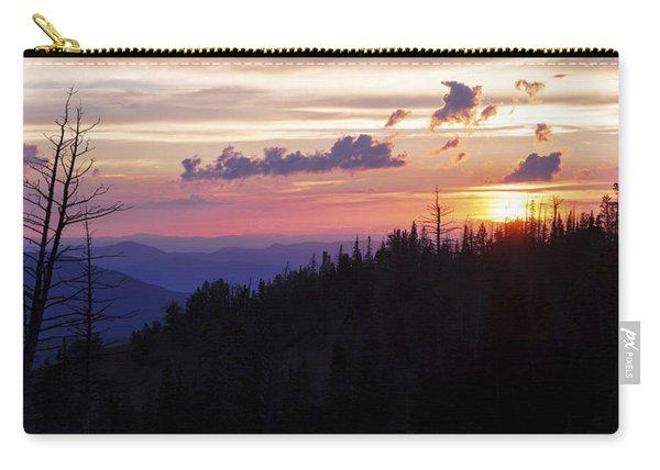 Sun Over Cedar Carry-all Pouch